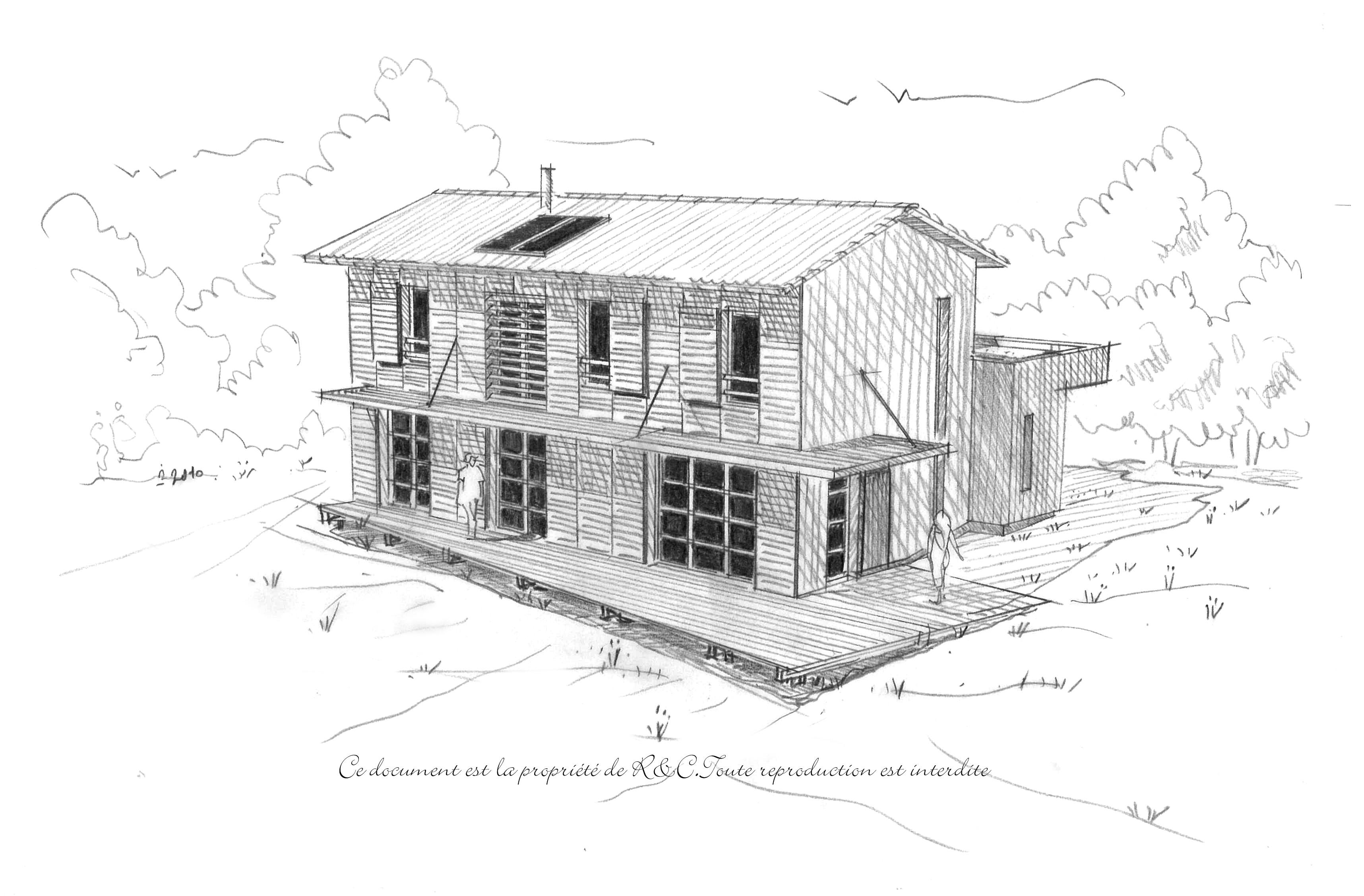 Esquiss t d finition exemple et image - Architecture bioclimatique definition ...