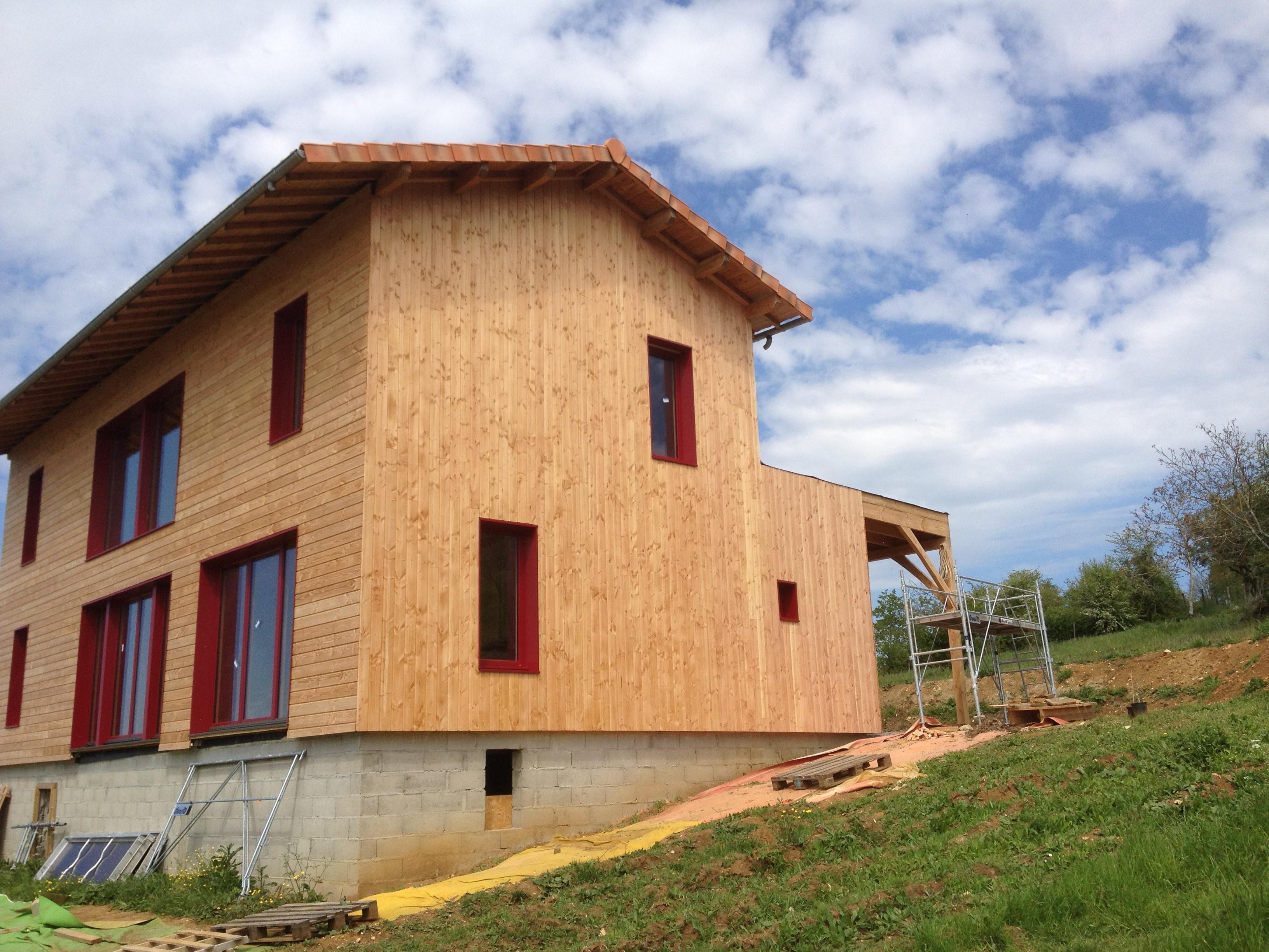 constructeur maison passive maison moderne